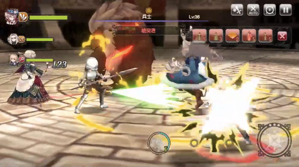 【グリムエコーズ攻略】闘技場3戦目ベアーウルフ&兵士とチャンピオンの倒し方!